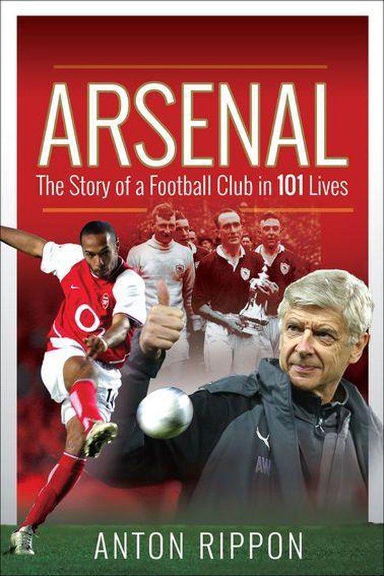 Boek cover Arsenal van Anton Rippon (Onbekend)