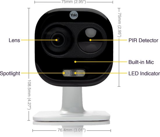 Yale Smart Home All-in-One buiten camera