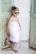 Kikoy Kinder Strandlaken Blanchi Pink