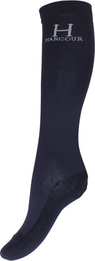 Harcour Sokken  Logo Duopack - Dark Blue - 35-39