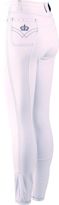 Epplejeck Rijbroek  Sparkle Full Grip - White - 40