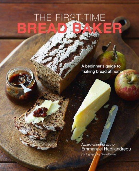 Boek cover The First-time Bread Baker van Emmanuel Hadjiandreou (Onbekend)
