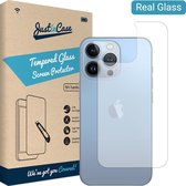 iPhone 13 Pro screenprotector - Back Cover - Gehard glas - Just in Case