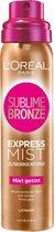 L'Oréal Paris Sublime Bronze - Zelbruinende Face Spray - 75 ml - Zelfbruiner voor het Gezicht