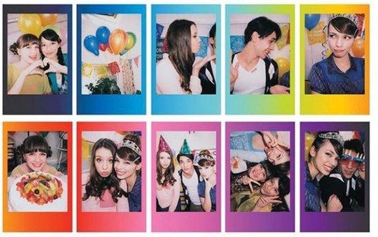 Fujifilm Instax Mini Colorfilm - Rainbow - 10 stuks