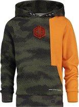 Vingino Jongens Sweatshirt - Camouflage Green - Maat 92