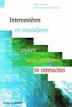 Boek cover Intervenieren en veranderen van