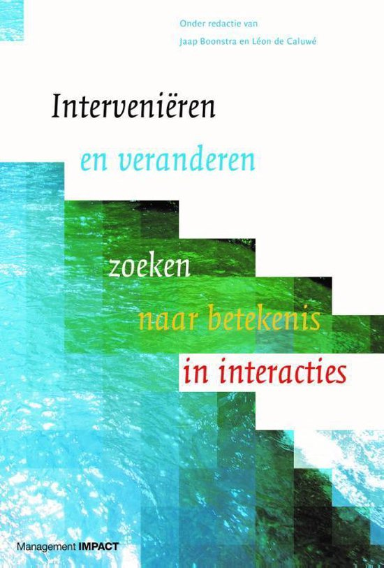 Afbeelding van Intervenieren en veranderen