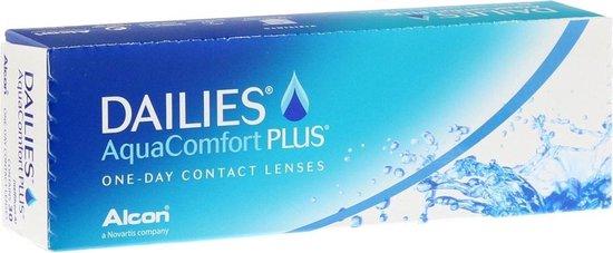 -5,00 - Dailies Aqua Comfort Plus - 30 pack - Daglenzen - Contactlenzen