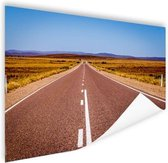 Weg Australie  Poster 90x60 cm - Foto print op Poster (wanddecoratie woonkamer / slaapkamer)