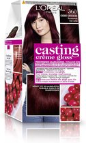 L'Oréal Paris Casting Creme Gloss 360- Kersenzwart - Haarverf