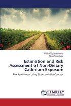 Estimation and Risk Assessment of Non-Dietary Cadmium Exposure