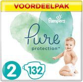 Pampers Pure Protection Luiers - Maat 2 (4-8 kg) -