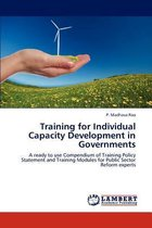 Training for Individual Capacity Development in Governments