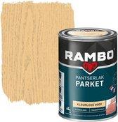 Rambo Pantserlak Parket Transparant Zg Kleurloos 0000-0,75 Ltr