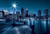 Fotobehang City Boston Skyline   XL - 208cm x 146cm   130g/m2 Vlies