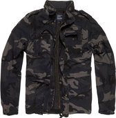 Vintage Industries Ground parka M65 dark camo