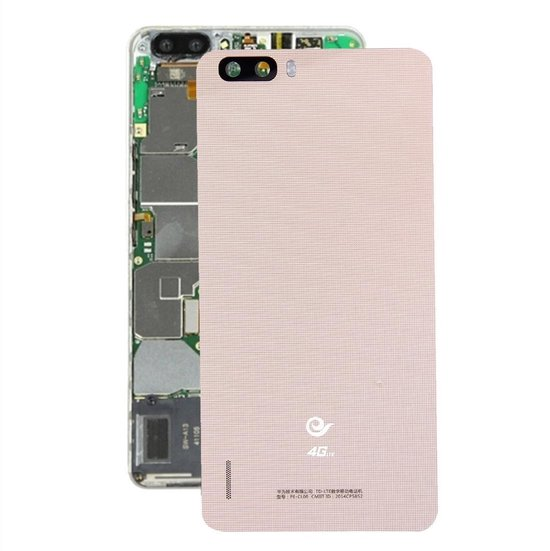 Let op type!! Huawei Honor 6 Plus Battery Back Cover(Gold)