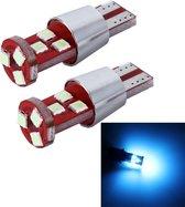 2 STKS T10 2.5 W 9 SMD-3030 LED Auto Klaring Lichten Lamp, DC 12 V (Ice Blauw Licht)