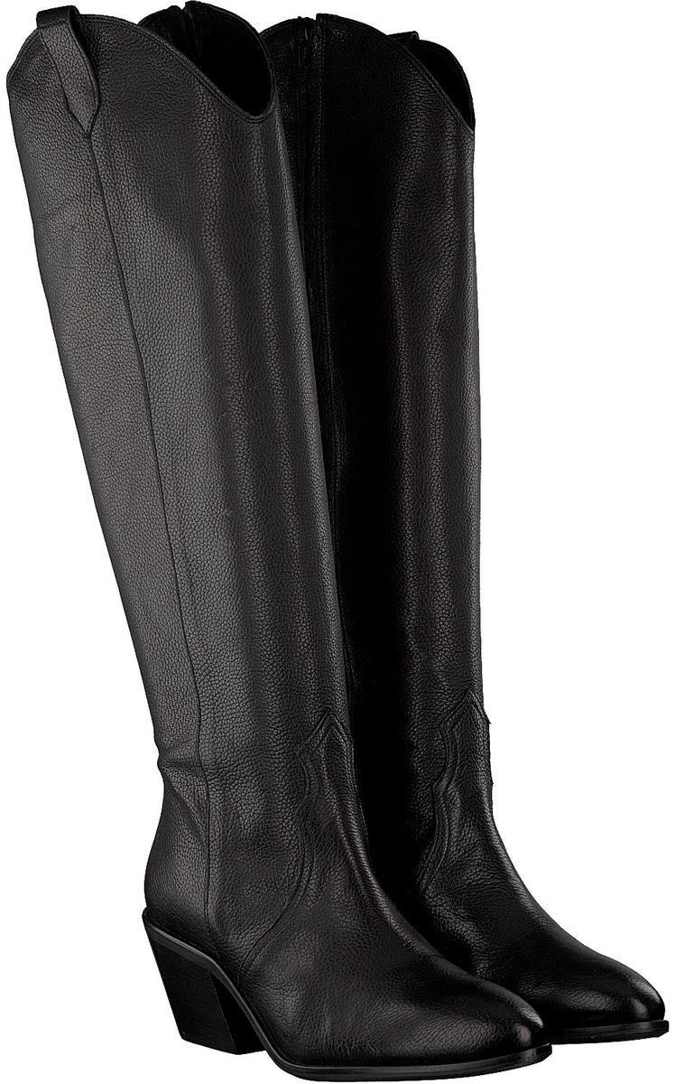 Roberto d'Angelo Dames Hoge laarzen Merel - Zwart - Maat 38 Laarzen