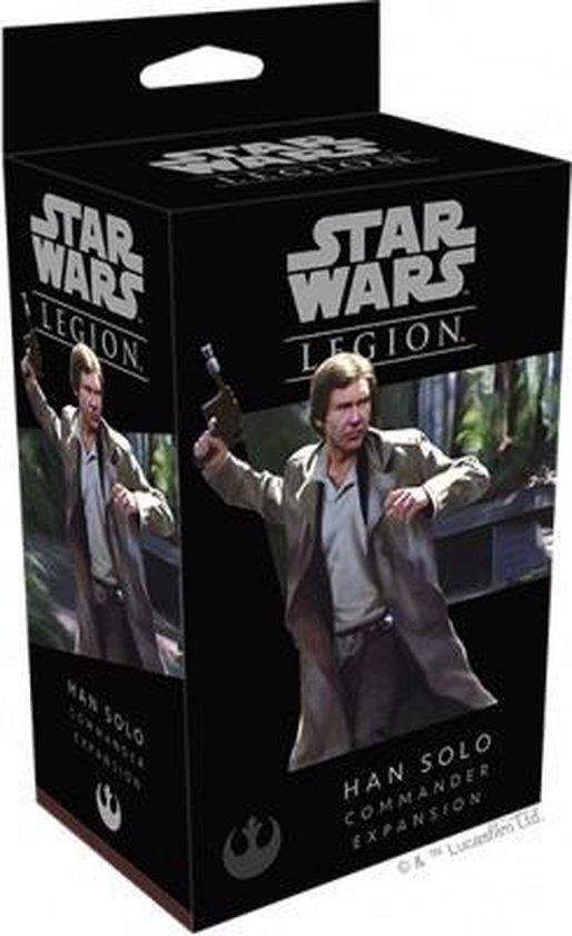 Afbeelding van het spel Star Wars Legion Han Solo Commander Exp - EN