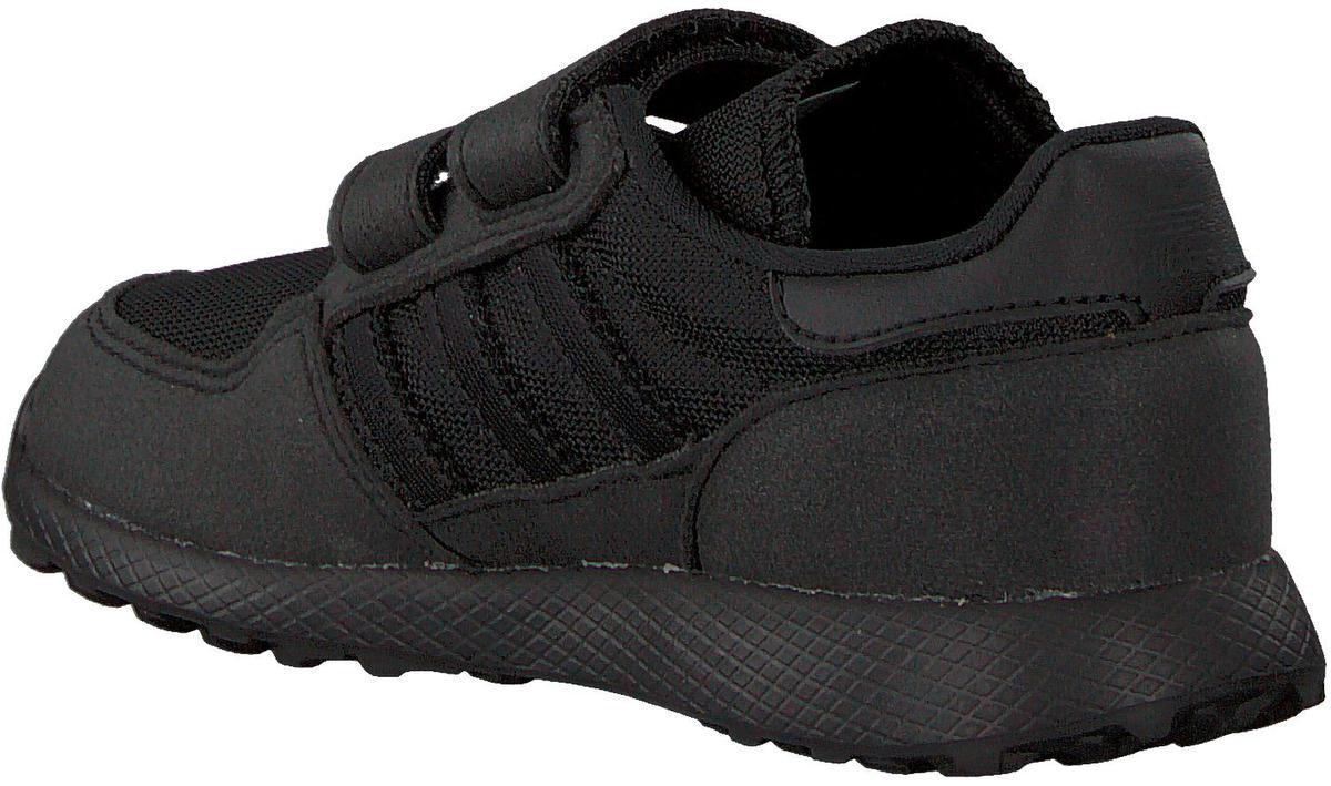 Adidas Jongens Lage sneakers Forest Grove Cf I Zwart Maat 25