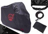 Motorhoes 245*105*125 cm  (XL ) stofvrij / ademend / waterafstotend Red Label