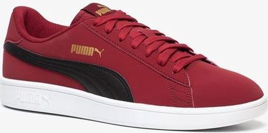 bol.com | Puma Smash V2 Buck heren sneakers - Rood - Maat 46