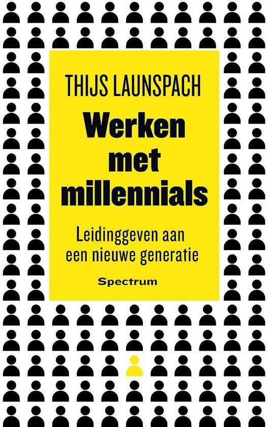 Boek cover Werken met millennials van Thijs Launspach (Paperback)