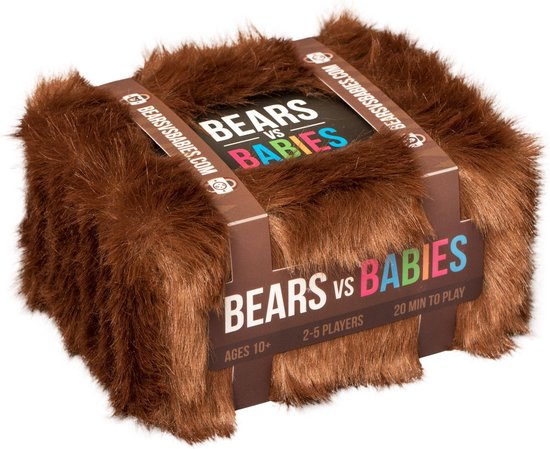 Bears vs Babies - Engelstalig Kaartspel