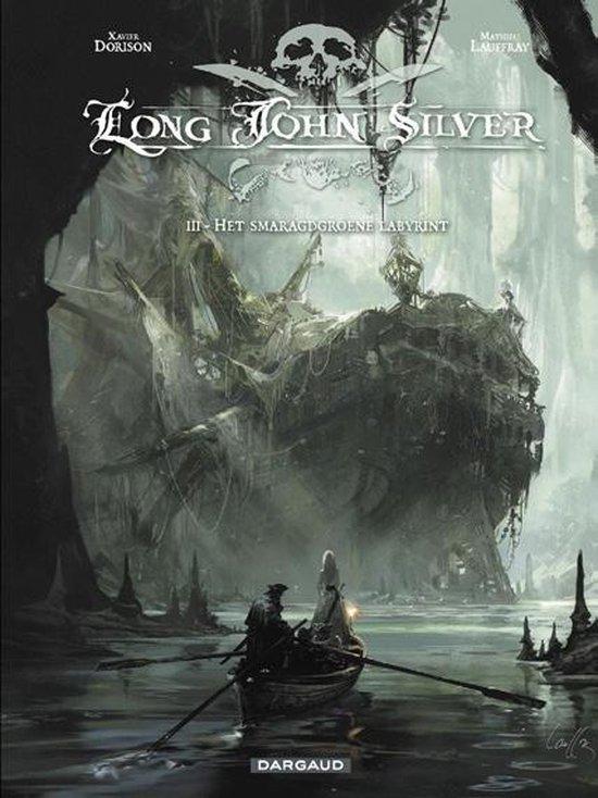 Long John silver hc03. het smaragdgroene labyrint 3/4 - matthieu lauffray   Fthsonline.com