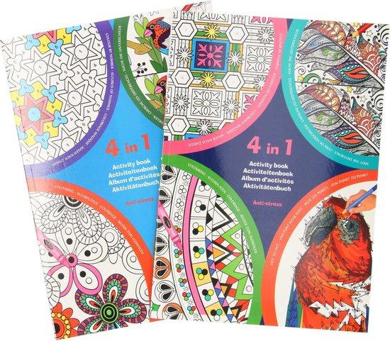 Afbeelding van Kleurboek voor volwassenen - Mandala kleurboek voor volwassenen en kinderen