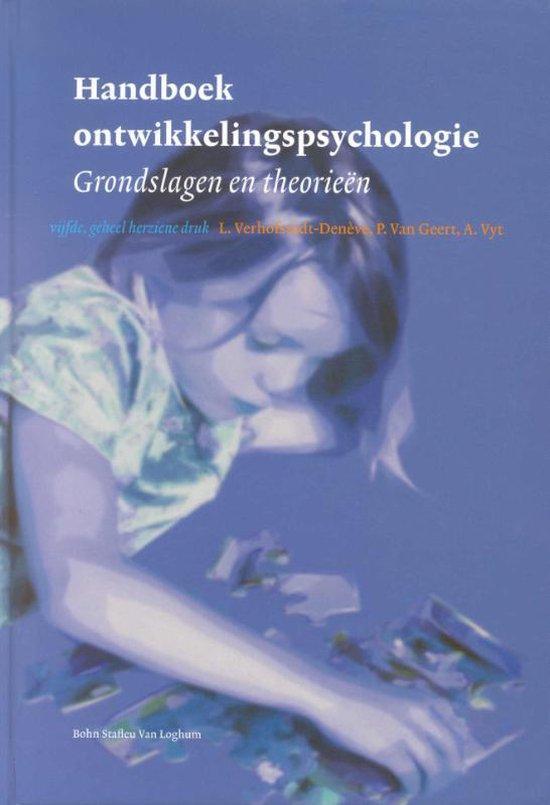 Handboek ontwikkelingspsychologie - L. Verhofstadt-Deneve |