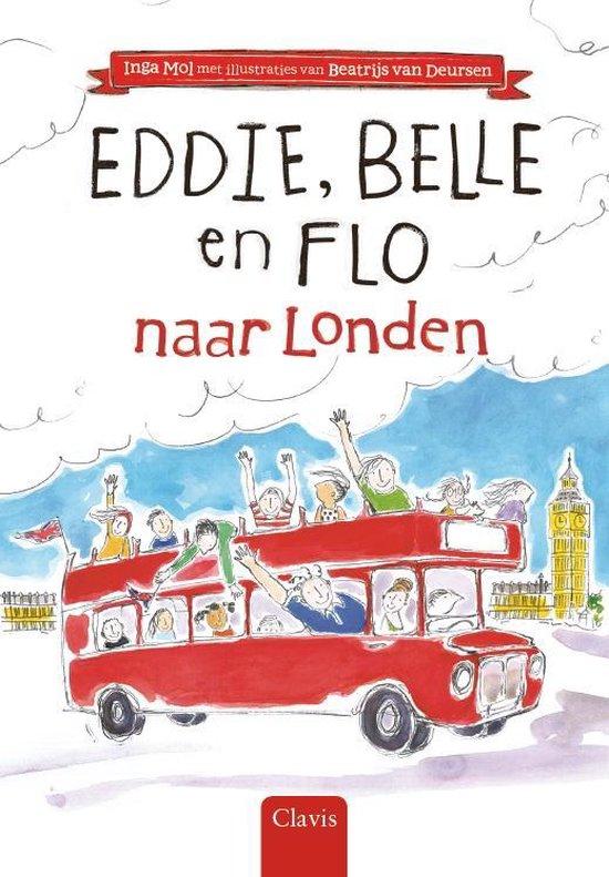 Eddie, Belle en Flo naar Londen - Inga Mol |