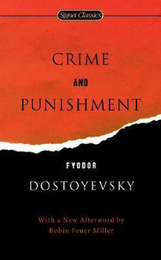 Boek cover Crime And Punishment van Fyodor Dostoyevsky (Paperback)