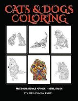 Coloring Book Pages (Cats and Dogs)