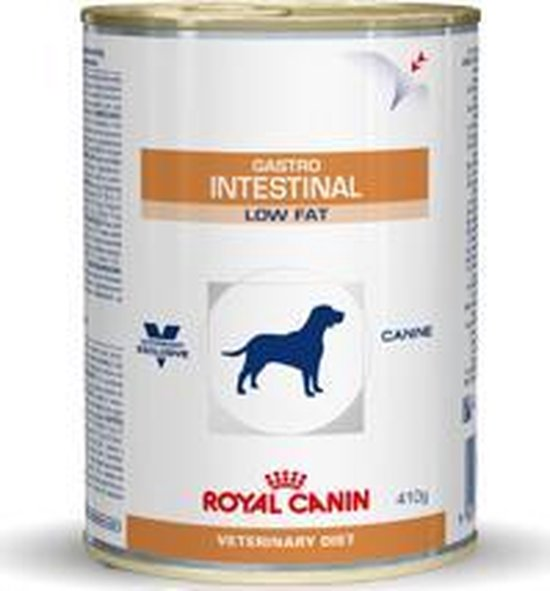 Royal Canin - Gastro Intestinal - Low Fat - Hondenvoer - 12 x 410 g