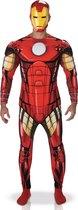Marvel Iron Man Deluxe - Kostuum Volwassenen - Maat L - 52/54