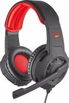 Trust GXT 310 Radius - Gaming Headset - PS4, PS5 en PC - Zwart/Rood
