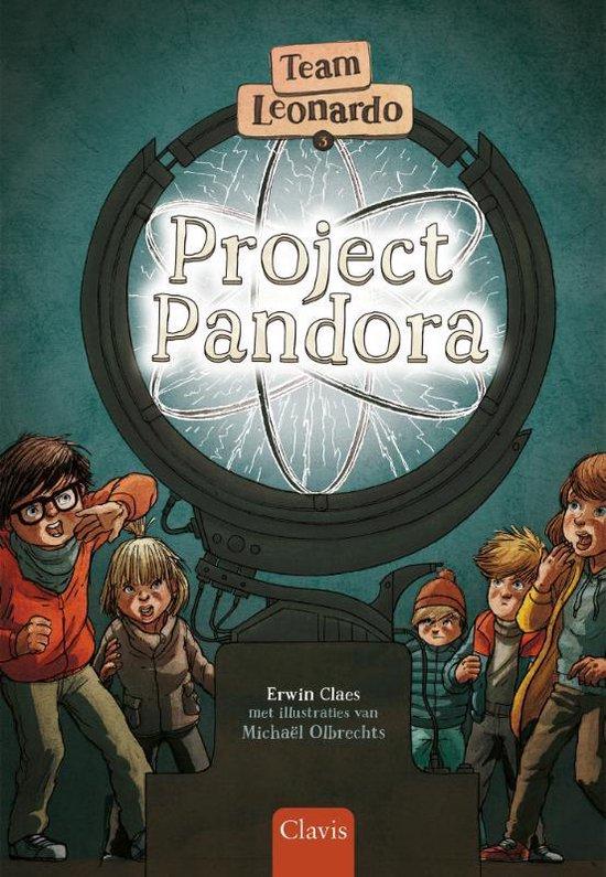 Boek cover Team Leonardo 3 -   Project Pandora van Erwin Claes (Hardcover)