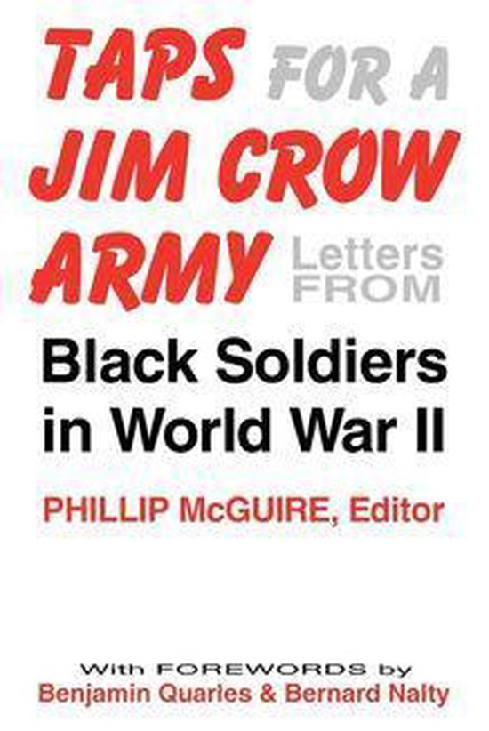 Boek cover Taps For A Jim Crow Army van  (Onbekend)