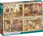 Jumbo Premium Collection Puzzel Anton Pieck Bakkers uit de 19e Eeuw - Legpuzzel - 1000 stukjes