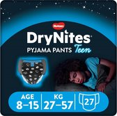 DryNites absorberende luierbroekjes - jongens - 8 tot 15 jaar - 27 stuks
