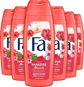 Fa Shower gel Paradise Moments - 6 stuks
