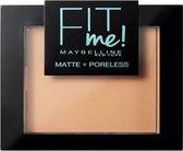 Maybelline Fit Me Matte & Poreless Powder Gezichtspoeder - 220 Natural Beige