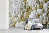 Fotobehang vinyl - Close-up van verschillende bloemkolen breedte 450 cm x hoogte 300 cm - Foto print op behang (in 7 formaten beschikbaar)