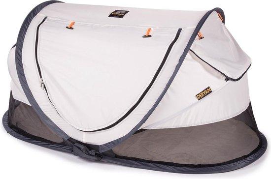 Deryan Peuter Luxe Campingbedje – Inclusief zelfopblaasbare matras - Cream - 2021