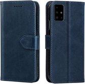Samsung Galaxy S21 Plus Bookcase Hoesje - Leer - Book Case - Wallet - Flip Cover - Samsung Galaxy S21 Plus - Blauw