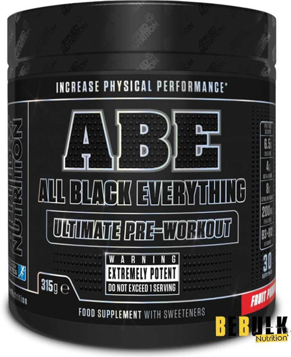 Applied Nutrition - ABE Ultimate Pre-Workout - 315 g - Fruit Punch Smaak - 30 servings