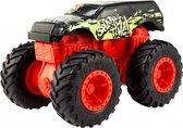 Hot Wheels Monstertruck Bash-ups Splatter Me Zwart 12 Cm
